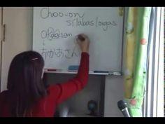Curso de Japonês - Aula 12 - Satomi Sensei