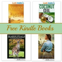 Free Kindle Book List: First Dawn, Coconut Oil, Marsupials, and More