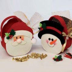 bolsas de navidad en fieltro - Buscar con Google