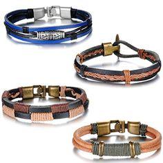 Aroncent 4PCS Herren Damen Armband, Retro Charme Geflocht... https://www.amazon.de/dp/B017LSQ390/ref=cm_sw_r_pi_dp_6InvxbZEJK836