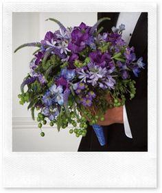 Inspiration: Purple Wedding Bouquets