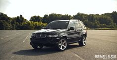 BMW-X5-E53  Check out for more on: http://dailybulletsblog.com/60-best-pictures-of-bmw-x5-e53/ #X5 #E53 #BMW