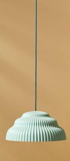 Suspension arc blanc led o15cm h27cm le klint normal lampe light