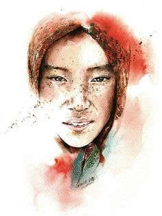 2014 sketching travel-April by Sunga Park, via Behance