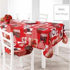 Červené ubrusy do kuchyně s motivem Vánoc Gift Wrapping, Collection, Gifts, Polyester, Red, Noel, Human Height, Paper Wrapping, Presents