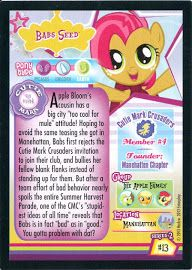 MLP Babs Seed Series 2 Trading Card