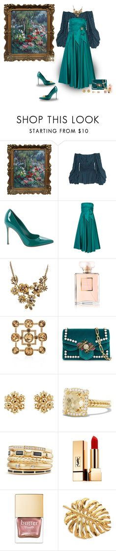 """Style the shoe"" by deborah-518 ❤ liked on Polyvore featuring Petersyn, Sergio Rossi, TIBI, WithChic, Chanel, Gucci, David Yurman, Yves Saint Laurent and Oscar de la Renta"