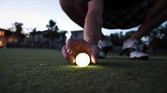 LED Golf Balls for Night Golf http://glowproducts.com/nightgolf #NightGolf