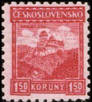 Sello: Karlův Týn castle (Checoslovaquia) (Castles, landscapes and cities) Mi:CS 261,Sn:CS 133,Yt:CS 233,AFA:CS 126,POF:CS 220