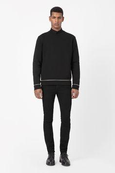 COS | Zip panel sweatshirt