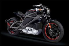 Harley-Davidson  Livewire an electric powered bike. Totally cool!