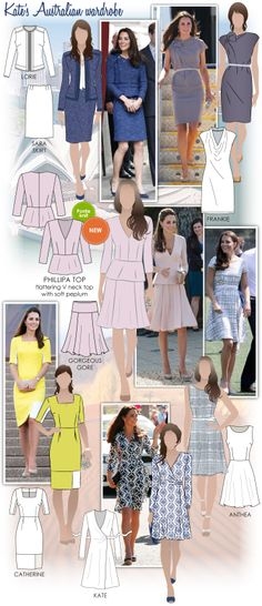 Kate's Australian Wardrobe