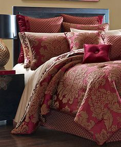J Queen New York Bedding, Shiraz Comforter Sets