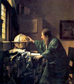 Jan Vermeer, The Astronomer