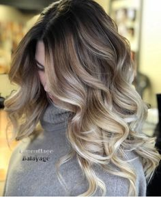 Searching for best hair color shades and contrasts? See here we have made a collection of best balayage ombre hair colors and hairstyles in year Use to wear these amazing styles of balayage colors right now. Hair Color Shades, Ombre Hair Color, Blonde Color, Cool Hair Color, Hair Colors, Darker Blonde, Dark Blonde Hair Color, Hair Color Cream, Ash Blonde