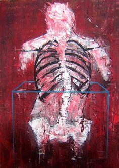 Acrílico sobre lienzo Ismael Panadero