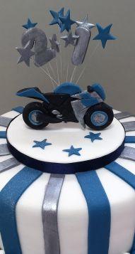 motorbike cake …   pinteres…
