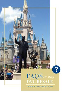 DVC Resales - Frequently Asked Questions for Buyers