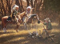 Paintings by John Fawcett - Warrior Nation