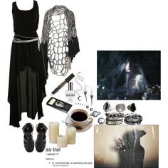 """I want to be a part of the sky"" by morbid-octobur on Polyvore"