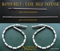 cane self defense, folding weapon, baton belt in Sporting Goods, Boxing, Martial Arts & MMA, Martial Arts Weapons | eBay