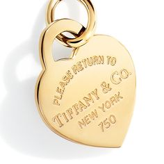 A Return to Tiffany® heart tag for someone who truly has a heart of gold.