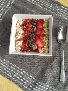 Strawberry Flax Smoothie Bowl {Recipe ReDux} - http://gratefulgrazer.com/recipe/strawberry-flax-smoothie-bowl/