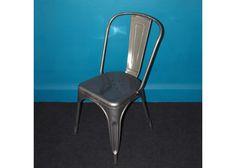 Industrial Steel Café Chair