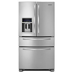 KitchenAid 25.0 cu. ft. French-Door Refrigerator w/ FreshVue Drawer - KFXS25RYMS - Stainless Steel ENERGY STAR®  Sears Item# 04688633000 | Model# KFXS25RY   Rating | Be the first to rate and review this item  Reg Price: $2899.99  Savings: $290.00  $2609.99  Only $2218.49