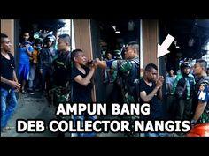 Sumpah Ngakak Debt Collector Nangis Dihajar Polisi Militer