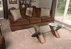 Crossing coffee table interior shot Reuse, Recycle, Repurpose with Rail Yard Studios