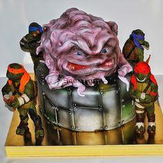 Торт Черепашки Ниндзя. Заказ торта в Москве на день рождения для детей
