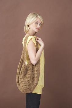 "Free pattern for ""Market Bag""!"