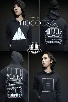 ReonLeon Project Toneless Printed Hoodies