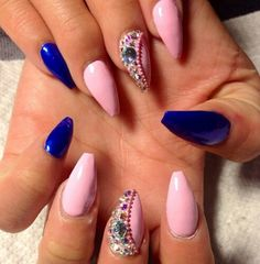 jewelled nails