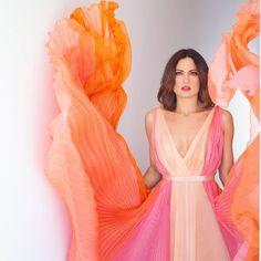 in Mi-Ro couture dress Couture Dresses, Design, Haute Couture Dresses