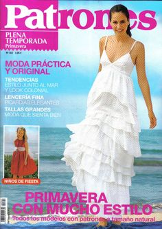 Mujeres y alfileres: Revista patrones Nº302 para descargar Sewing Hacks, Sewing Tutorials, Sewing Patterns, Sewing Tips, Pattern Making, Kids Outfits, Boho, Formal Dresses, My Style