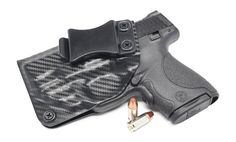 Smith & Wesson M&P Shield 9MM/.40 w/Red Crimson Trace Laser IWB KYDEX Holster Save those thumbs & bucks w/ free  shipping on this magloader, Magazine loader  Speedloader http://www.amazon.com/shops/raeind