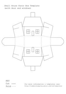 Free Printable Templates  Box Templates Smallest House And