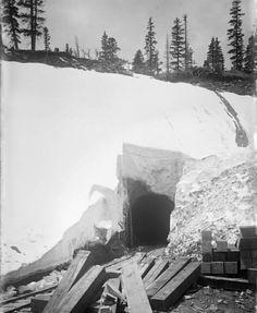 Alpine Tunnel east portal 1895