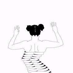 Animated Illustrations by Xaviera López