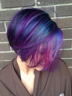 "Die my hair blue and purple, Or ""Galaxy"" as the kids say"
