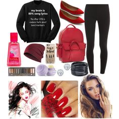 Art and music class!!! by disneylifstyle on Polyvore featuring мода…