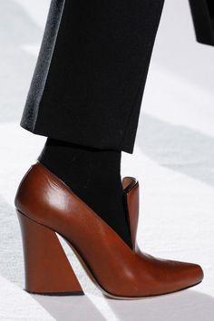 Eves Størrelse On Slip 225 10 Sko Brand Og New Brogues Grey