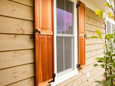 Cedar Shutters On Pinterest House Shutters And Porches