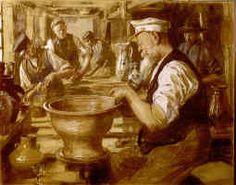 P.S. Krøyer: Herman A. Kählers værksted