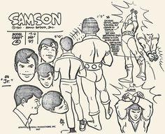 Alex Toth - Samson