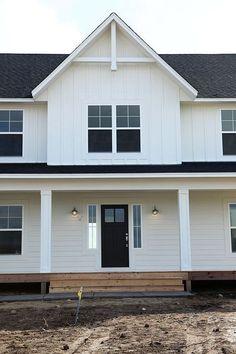 New farmhouse construction