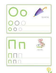 o and p Preschool Letters, Alphabet Activities, Kid Flash, Greek Language, Greek Alphabet, Language Lessons, School Lessons, Pencil, Teaching