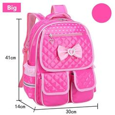 Children School Bags Cute Bow-tie Children Backpacks Bags For Girls  Orthopedic School Bags Kids Mochila Backpack For Teenagers 618cb4b6cb403
